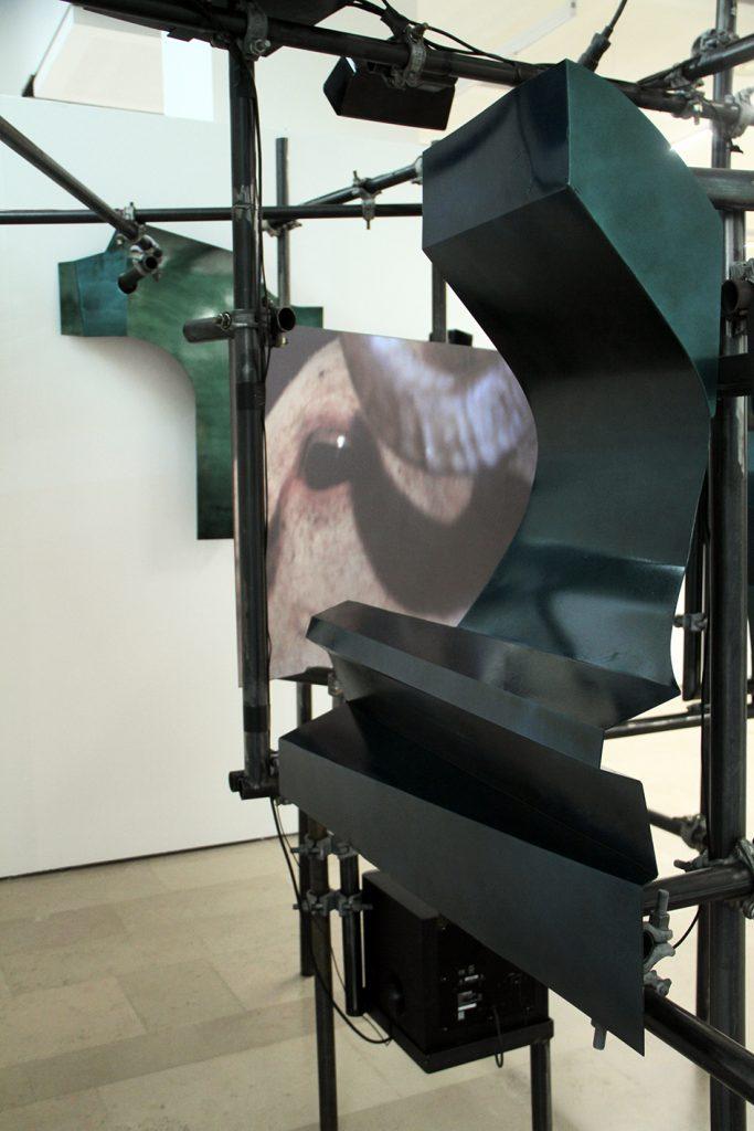 Deman la tonda, installation, Salon de Montrouge
